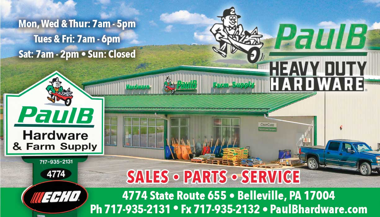 """<center>PaulB Hardware 