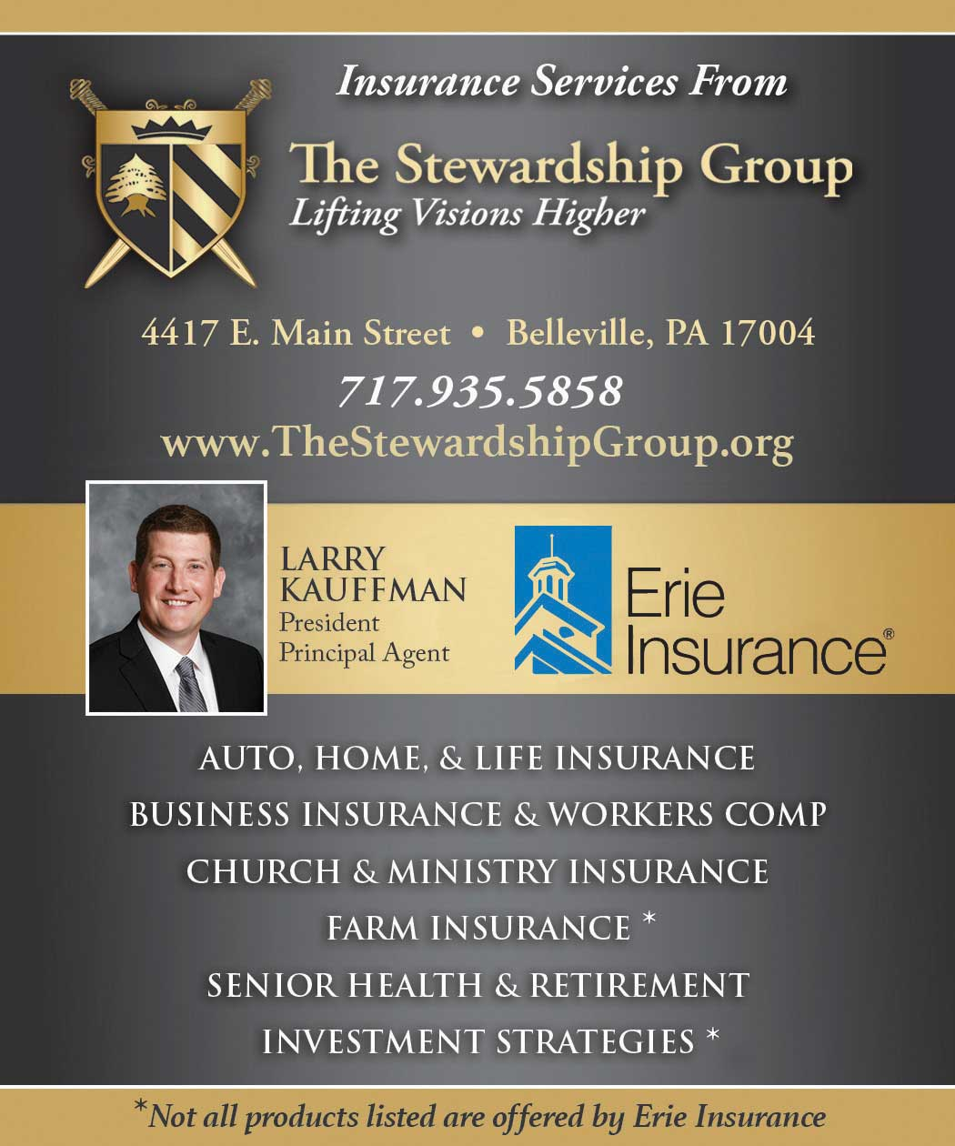 """<center>The Stewardship Group 